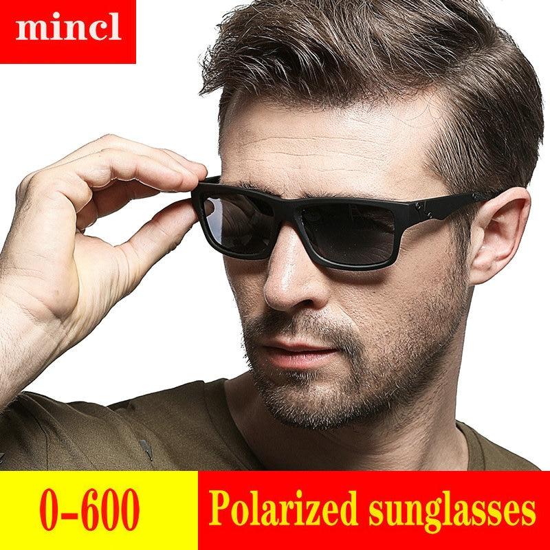2019 Diopter men women Custom Made Myopia Minus Prescription Polarized LensRetro squar esunglasses men Driving goggles UV FML 23