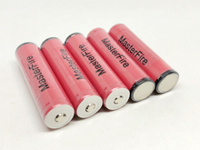 MasterFire 10pcs/lot New Original Sanyo 18650 Rechargeable Protected Battery 3.7V 2600mAh Lithium Camera Flashlight Batteries