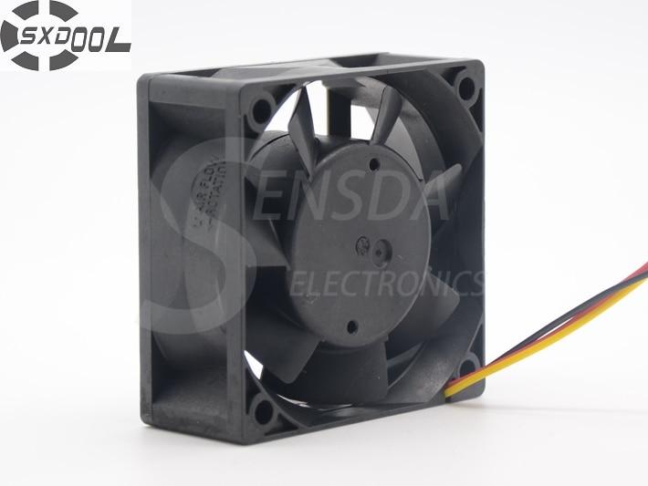 SXDOOL 60mm MMF-06F24ES RM5 NC5332H62 DC 24V 0.10A Inverter Cooling Fan sxdool mds c1 v1 fan nc5332h44 mmf 09d24ts rn9 dc 24v 0 19a server inverter cooling fan