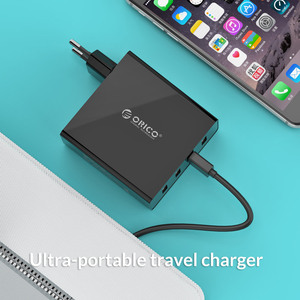Image 3 - ORICO DCW 4U 4 Ports Wall USB Phone Charger 5V2.4A*4 6A30W Total Output Mobile Phone Travel Charger For Smartphone