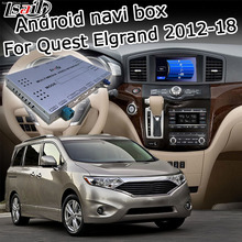 Lsailt Android GPS navigation box for Nissan Quest Elgrand 2011-2017 high end, with Armada Patrol Pathfinder 370z etc