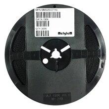 MCIGICM MM3Z6V2T1G Zener Diode 6.2V 300mW Surface Mount SOD-323 MM3Z6V2 200pcs bzt52c3v0s sod 323 3 v mark w2 stabilivolt
