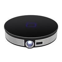 D8S Портативный мини проектор для Android 2,4 г 5,8 Г Wi Fi Bluetooth 4,0 4 К 3D Proyector светодио дный дома Кино Бимер Поддержка Airplay Miracast