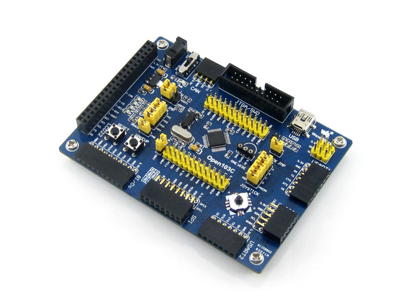 Waveshare Open103C  Mother Board STM32F103CBT6 STM32F103 STM32 ARM Cortex-M3 Development Board Integrates Various Interfaces