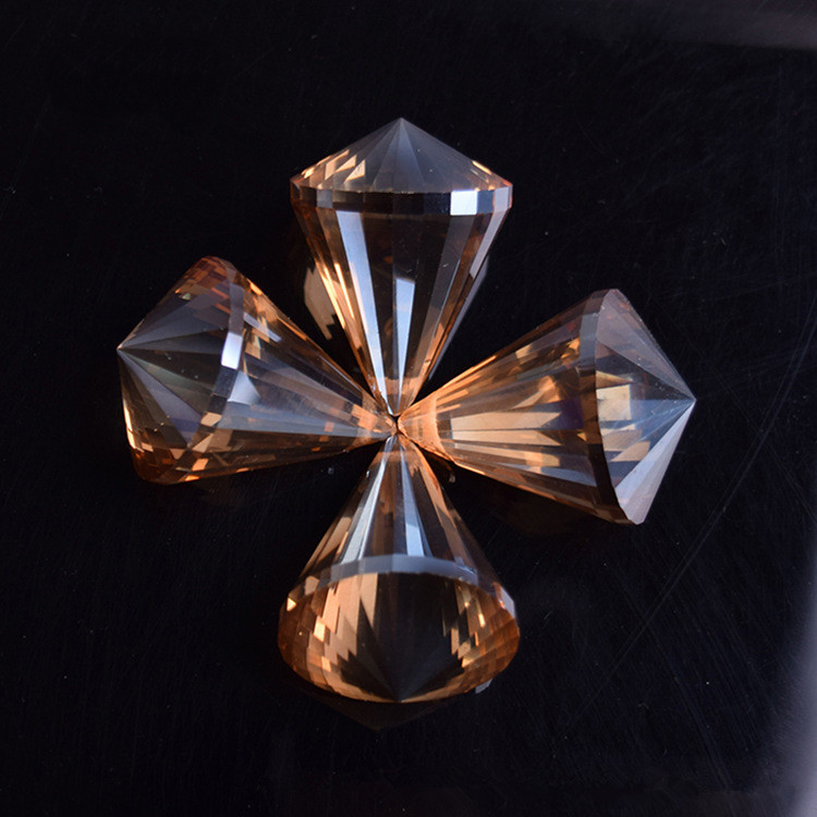 108 teilelos goldenen pfirsich 30mm kristall kronleuchter kugeln - Kronleuchterkugeln