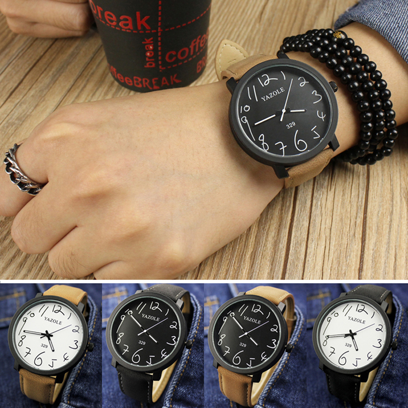 4 colors Womens Quartz Wristwatches Round fashion Couple watches Gifts