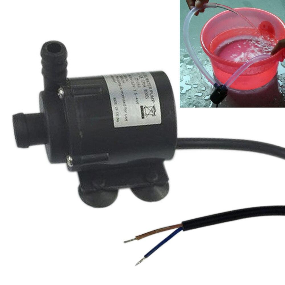 все цены на  Waterproof IP68 DC12V 280L/H Micro Brushless Submersible Motor Water Pump For Aquarium Fountain  онлайн