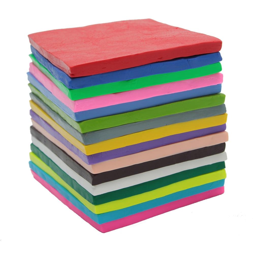 500g / 17.64oz Color sólido Horno Hornear Polímero suave plastilina - Educación y entrenamiento - foto 2