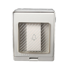 Doorbell Wall Switch Waterproof Dust-proof Outdoor External , Waterpro
