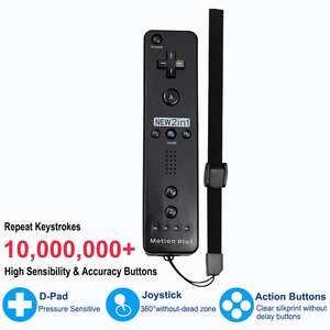 Image 3 - Built in Motion Plus Wireless Remote Gamepad Controller For Nintend Wii Remote Controle Joystick Joypad