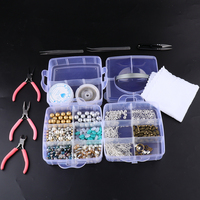 DIY Charm Bracelet Making Kit Jewelry Supplies with Jewelry Tools for Repair