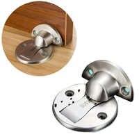 50x50x4 мм самоклеющийся магнитный дверной ограничитель для дверей из нержавеющей стали