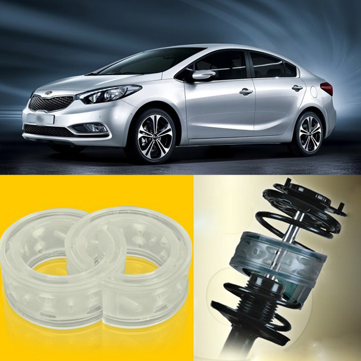 2pcs Power Front /Rear Shock Suspension Cushion Buffer Spring Bumper For KIA K3 50pcs high quality adaptation sanyo chunhua vacuum cleaner accessories dust bag garbage paper bag xtw 80 zw80 936