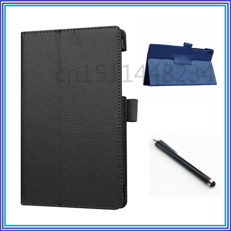 Cover For Lenovo Tab 3 730F 730M 730X 7.0 inch Magnet stand litchi Pu leather case tablet funda cases TB3-730F TB3-730M TB3-730X print flower pu leather case cover for lenovo tab 3 730f 730m 730x tb3 730x tb3 730f tb3 730m tablet 7 screen protector film