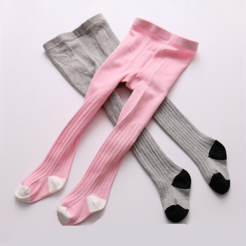 Baby Cotton Tights For Girls Winter Thick Warm Tights For -9310