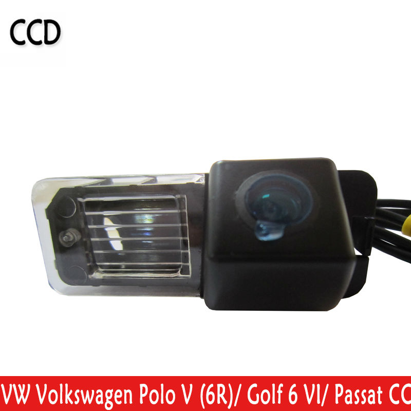 Car Rear View camera Waterproof 170 Degree Wide Viewing Angle Reverse Backup for VW Volkswagen Polo