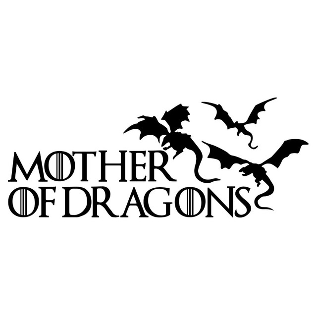 Cool Mother Of Dragons Decoration Car Stickers And Decals