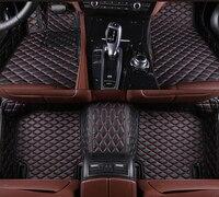 5 colors For Audi A7 A8 S1 S3 S4 S5 SQ5 S6 S7 S8 TT Car Floor Mat Front & Rear Liner Waterproof Mat Car Accessories Carpets