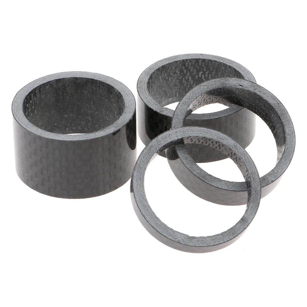 """NEW 1 Bike Bicycle Headset Stem Carbon Spacer 1-1//8/""""  5mm"""