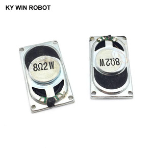 Image 3 - 2PCS/Lot Notebook Speaker Horn 2W 8R 3520 2035 Loud speaker 8 ohms 2 Watt 8R 2W 35*20MM thickness 5.5MM