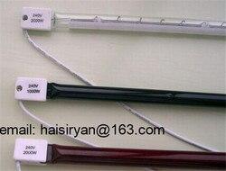 customized 800w 500mm far Single tube Electric halogen IR quartz glass heate lamp