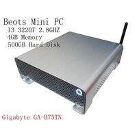 2015 I3 3220 T 6 ГБ ОЗУ 500 ГБ Мини компьютер WIN OS тонкий клиент двухъядерный 64 бит процессор HDD GPU HDMI Win 7/Linux