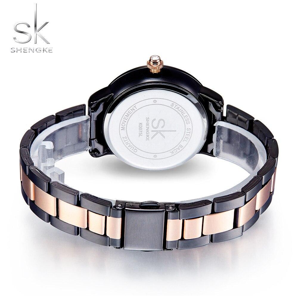 SK Rose Gold Watch Կանացի քվարց ժամացույցներ - Կանացի ժամացույցներ - Լուսանկար 5