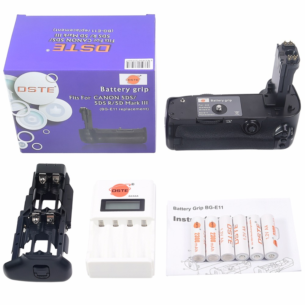 Compatible with Canon EOS 5D Mark IV DSLR Camera Body Neewer NW-5D Mark IV 2.4G Wireless Remote Control Replacement Battery Grip for Canon BG-E20 and 2 Pieces 2000 mAh Replacement Battery for LP-E6