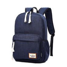 2016 New Luggage & Bags Women Men Canvas Backpack Schoolbags for girl Boy Teenagers Casual Travel Laptop Bags Rucksack mochila