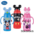 400ml Disney Mickey Minnie safe SS304 12 hours keep warm kid tour vacuum cup baby lovely insulation cup Chrismas gift for kid