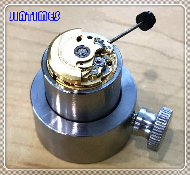 Free Shipping 1pc 304L Stainless Steel ETA 2671 Movement Holders/Watch Repair Tool Setting Hands & Checking Chronograph цена и фото