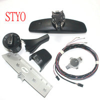 STYO фар авто выключатель + Дождь Щетка Сенсор + затемнением зеркало заднего вида для VW GOLF 7 MK7
