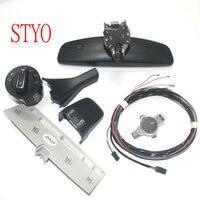 STYO Auto headlight switch+Rain Wiper Sensor+ Dimming Rear View Mirror for VW GOLF 7 MK7
