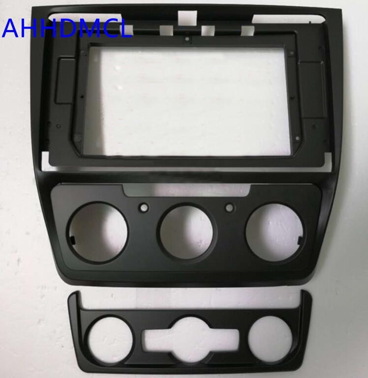 Car Fascias Navigation Frame Dash Kit For 10 10 2 Universal Android Multimedia Player For Skoda