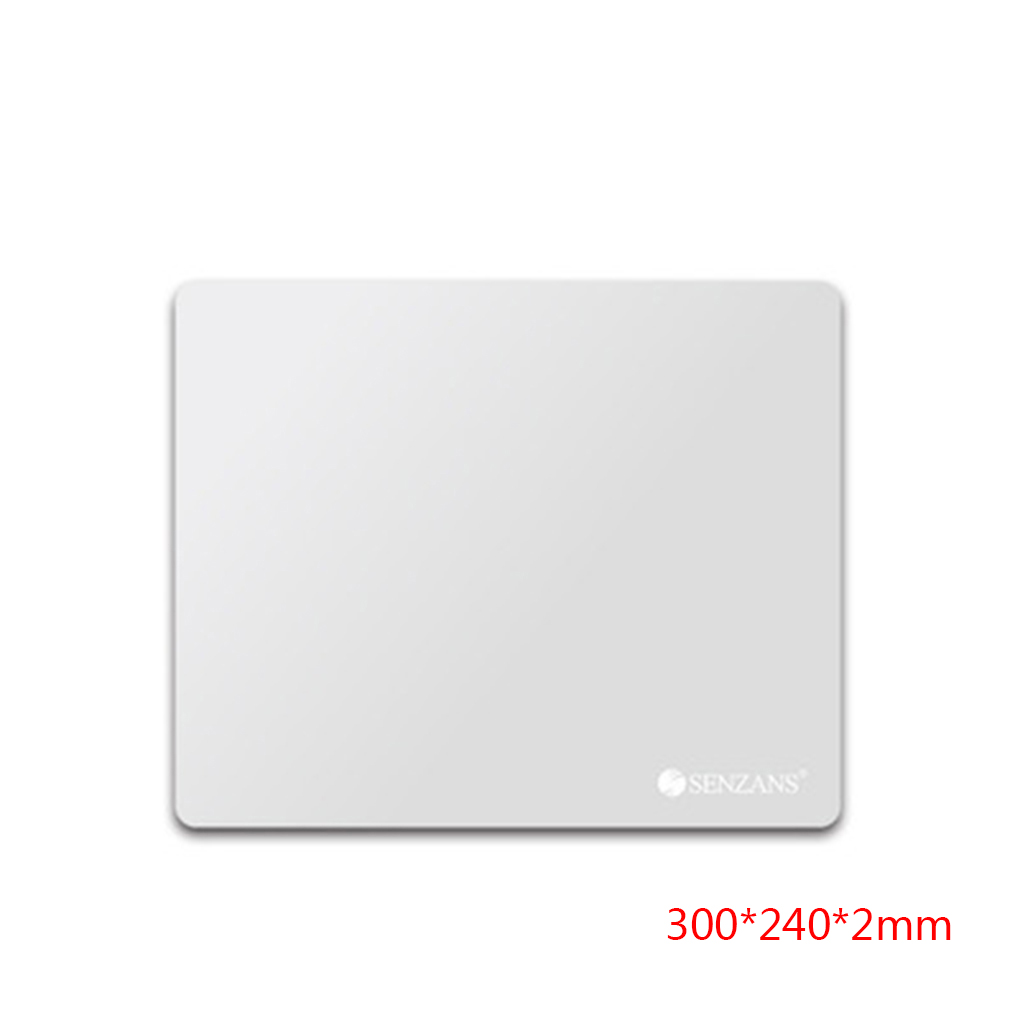 ELENXS 300*240*2mm Large Size Mouse Mat PC Laptop Gaming Mousepad Slim Aluminium Alloy Metal Game Mouse Pad