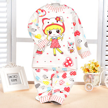 Baby Born Rushed Down & Parkas Open Stitch Baby Set 2016 New Male And Female Cotton Underwear Sets Newborn / Warm Suit Clothing