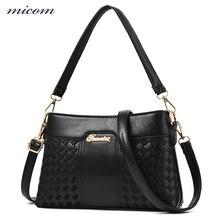 MiCOM New Luxury Leather Handbags High Quality Crossbody Bags for Women Shoulder Bags Ladies Hand Bag Casual Tote Bolsa Feminina