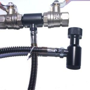 Image 3 - 新ペイントボールエアガン PCP 撮影 Sodastream CO2 タンクボトル詰め替え駅 Kobalt アダプタ私達と CGA 320 糸