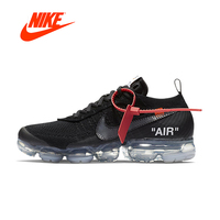 Original New Arrival Authentic NIKE X Off White VaporMax 2.0 AIR MAX Breathable Men's Running Shoes Sport Sneakers AA3831 002