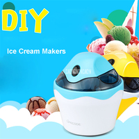 SU 583 Family Fully Automatic Ice Cream Machine Self Made Fruit Ice Cream Machine ABS Shell
