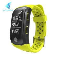 JUYUKEJI 2017 Sensible Wristband GPS Observe Document Sensible Band Sleep Pedometer Bracelet Health Tracker Coronary heart Price Monitor Sport Watc