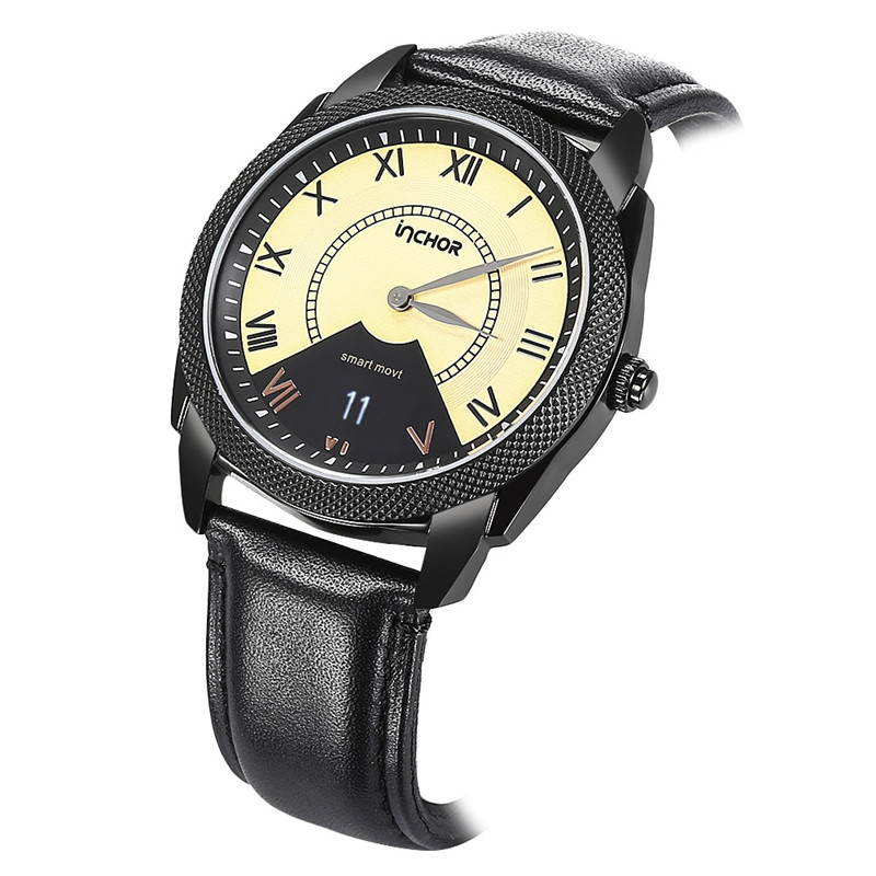 US $116 33 |2017 New Arrival Original Smartwatch INCHOR InClock Heart Rate  Monitor Bluetooth Wristwatch Auto Calibration Module Smartwatch-in Smart