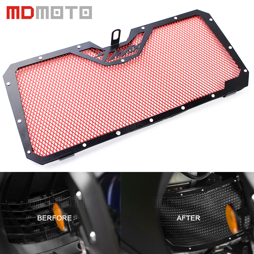 Radiator Grille Guard Grill Covers Protector Motorcycle Accessories For Yamaha TMAX 530 T MAX for yamaha t max 530 tmax t max 530 12 16 carbon fiber front fender splash mud dust guard mudguard protection