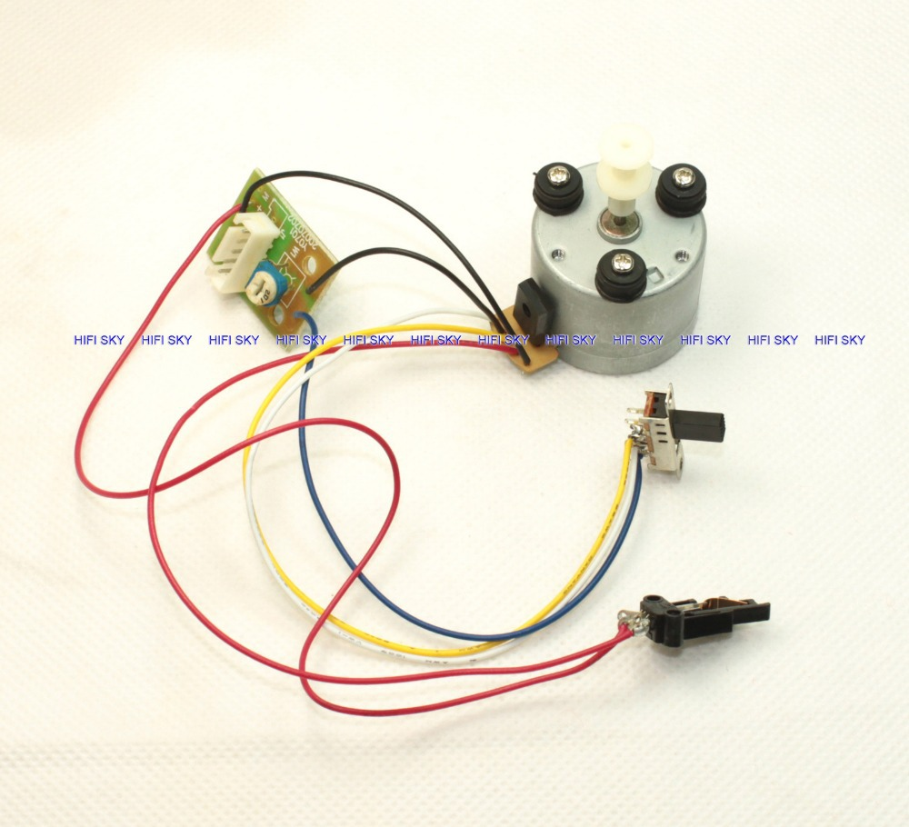 New 13s lot DC9 12V MOTOR with all switchs and wires 33 1 3 45 78RPM new 13s lot dc9~12v motor with all switchs and wires 33 1 3, 45 wiring a potentiometer to a motor at creativeand.co