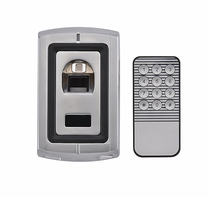 Metal Case Waterproof Access Control Fingerprint Reader Standalone Fingerprint Access Control System  Can Store 120 Fingers metal rfid em card reader ip68 waterproof metal standalone door lock access control system with keypad 2000 card users capacity