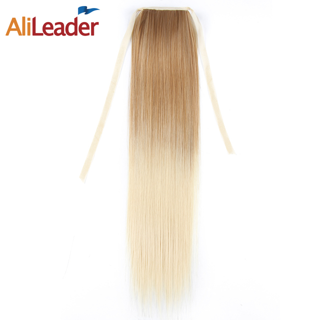Alileader Ponytail Extensions 20 Two Tone Ombre Claw On Ponytails