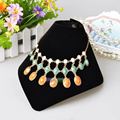 5pcs Black Velvet Necklace Display Stand Necklace Holder Jewelry Display Stand Rack