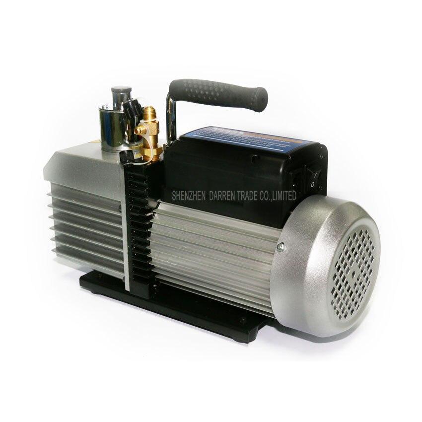 1 PC 100% Nova Marca e de Alta Qualidade bomba de vácuo Dupla voltagem 110 V 220 V 250 W Dupla frequência two stage com 1L - 2