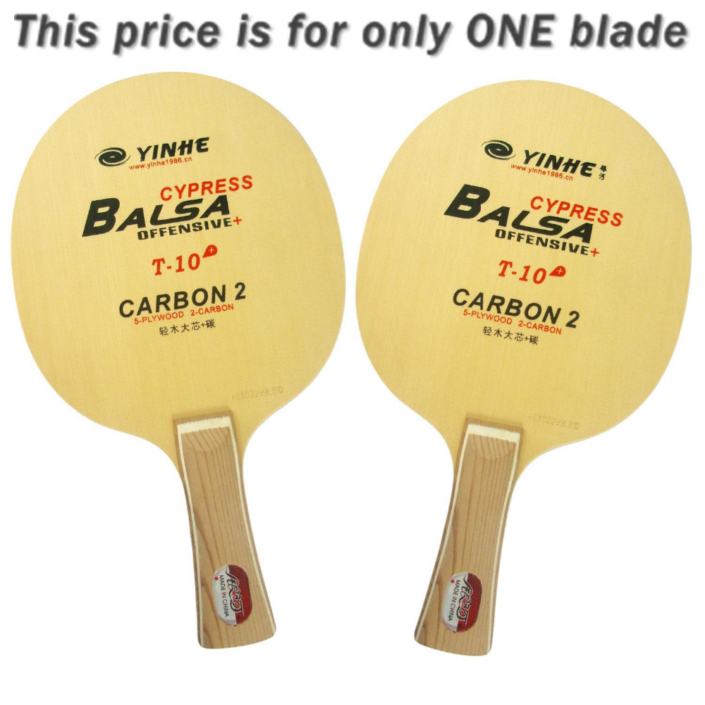 Galaxy Milky Way Yinhe Cypress Balsa T-10+ T 10+ T10+ OFF+ Table Tennis Blade for PingPong Racket galaxy yinhe emery paper racket ep 150 sandpaper table tennis paddle long shakehand st