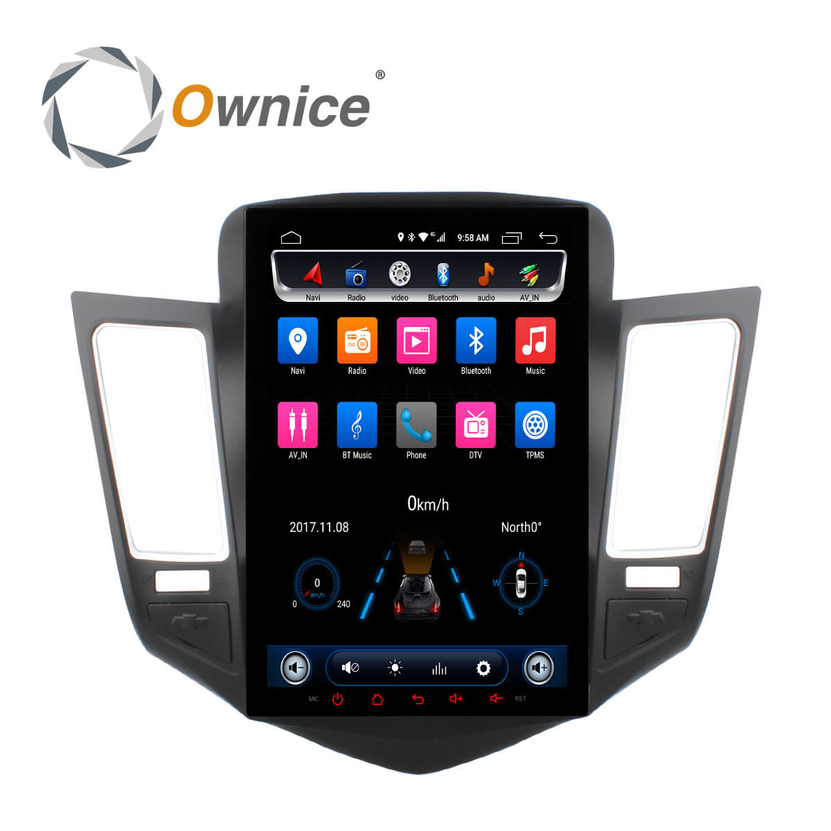 """Aliexpress.com : Buy Ownice 10.4"""" Android Car Stereo DVD"""